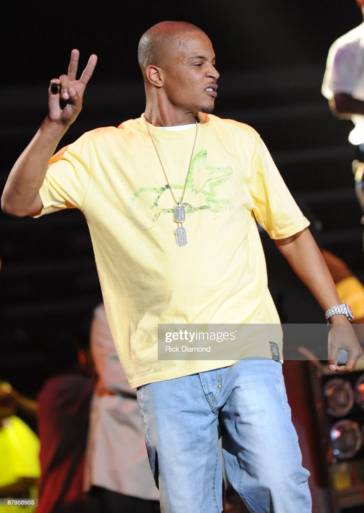 Rapper T.I performs at T.I.'s Final Countdown Concert at Philips Arena on May 24, 2009 in Atlanta, Georgia.