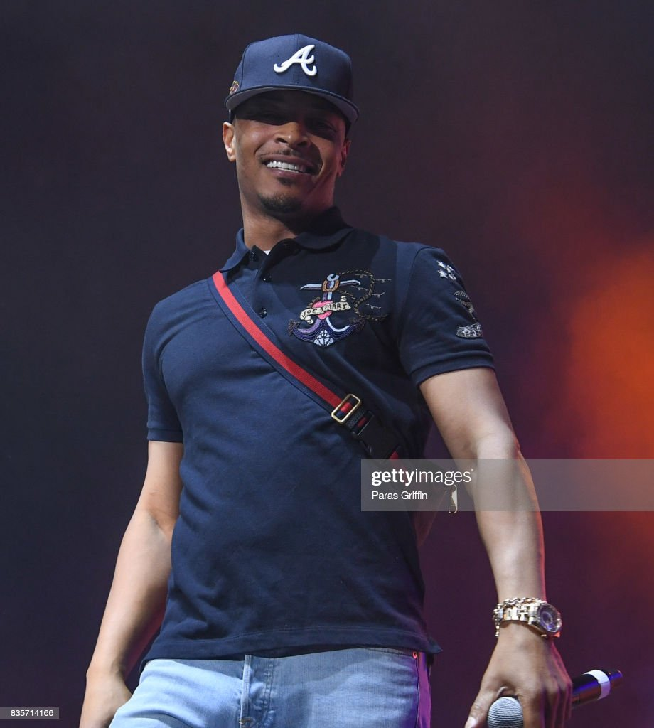 Rapper T.I. performs onstage at Streetzfest 2K17 at Lakewood Amphitheatre on August 19, 2017 in Atlanta, Georgia.