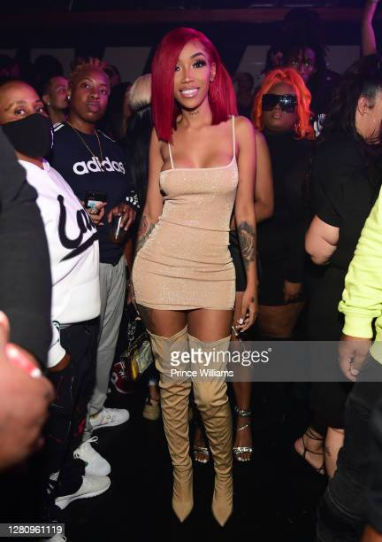 Rapper Tokyo Jetz attends LIBRA Album release Party at Gold Room on October 16 2020 in Atlanta Georgia