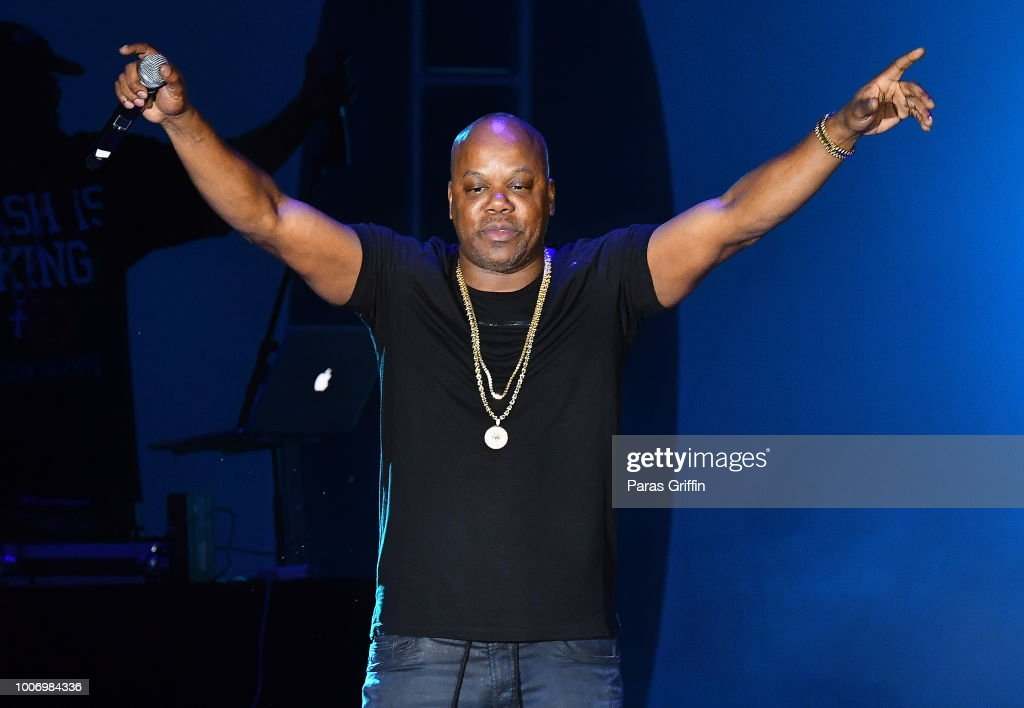Rapper Too Short performs onstage during 'The Legends of Hip-Hop' concert at Wolf Creek Amphitheater on July 28, 2018 in Atlanta, Georgia.