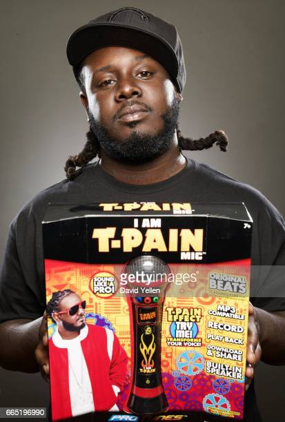 Rapper T-Pain is photographed for Fast Company Magazine in 2011.