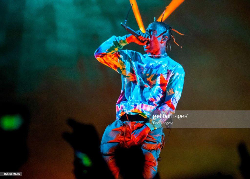 Travis Scott In Concert - Detroit, MI : News Photo