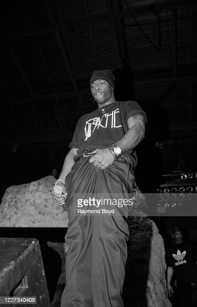 Rapper Treach of Naughty By Nature performs at the U.i.C. Pavilion in Chicago, Illinois in March 1992.