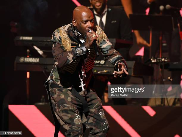 Rapper Treach of Naughty by Nature performs onstage during 2019 Black Music Honors at Cobb Energy Performing Arts Centre on September 05 2019 in...