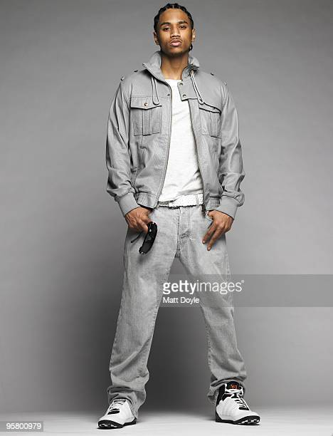 Rapper Trey Songz poses for a portrait session on February 21 New York NY Published Image