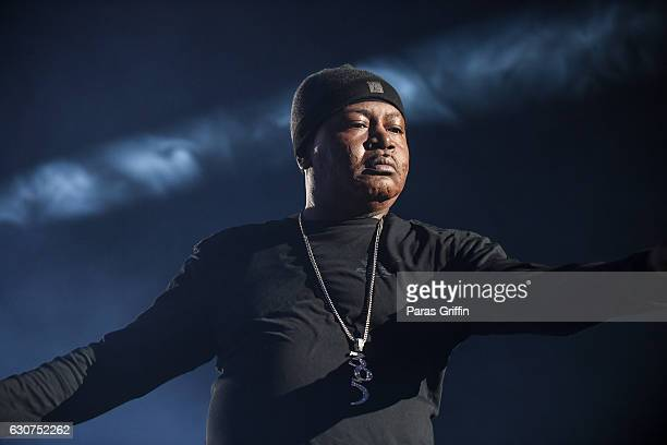 Rapper Trick Daddy performs onstage at 2016 Old School Hip Hop New Year's Eve Festival at Philips Arena on December 31 2016 in Atlanta Georgia