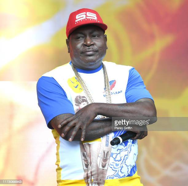 Rapper Trick Daddy performs onstage during 10th Annual ONE Musicfest at Centennial Olympic Park on September 07 2019 in Atlanta Georgia