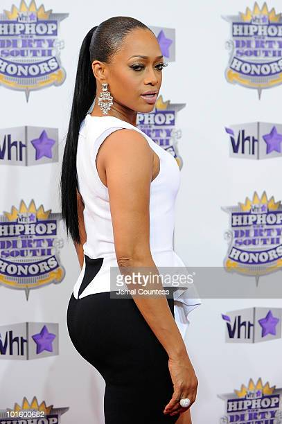 Rapper Trina attends 2010 VH1 Hip Hop Honors at Hammerstein Ballroom on June 3 2010 in New York New York