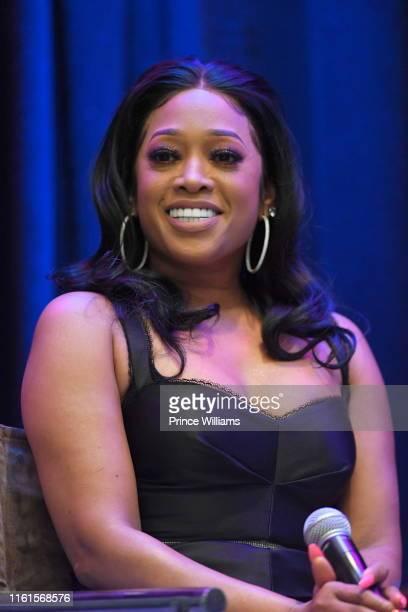 Rapper Trina attends Tune Chats Honoring Trina on July 11 2019 in Atlanta Georgia
