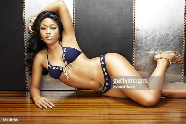 Rapper Trina is photographed in Miami for Black Woman