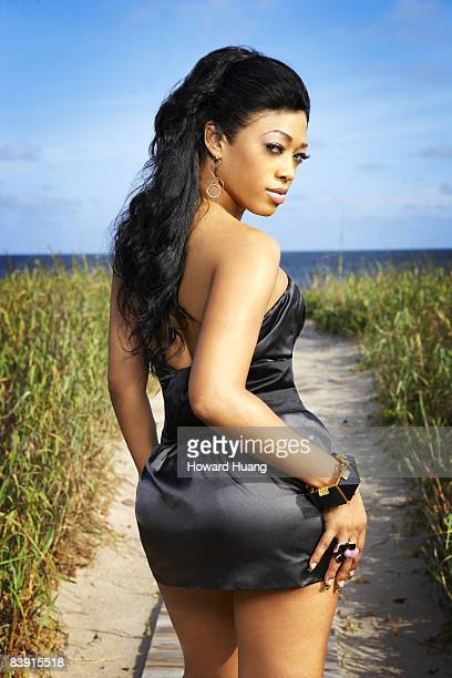 Rapper Trina is photographed in Miami for Black Woman Published image