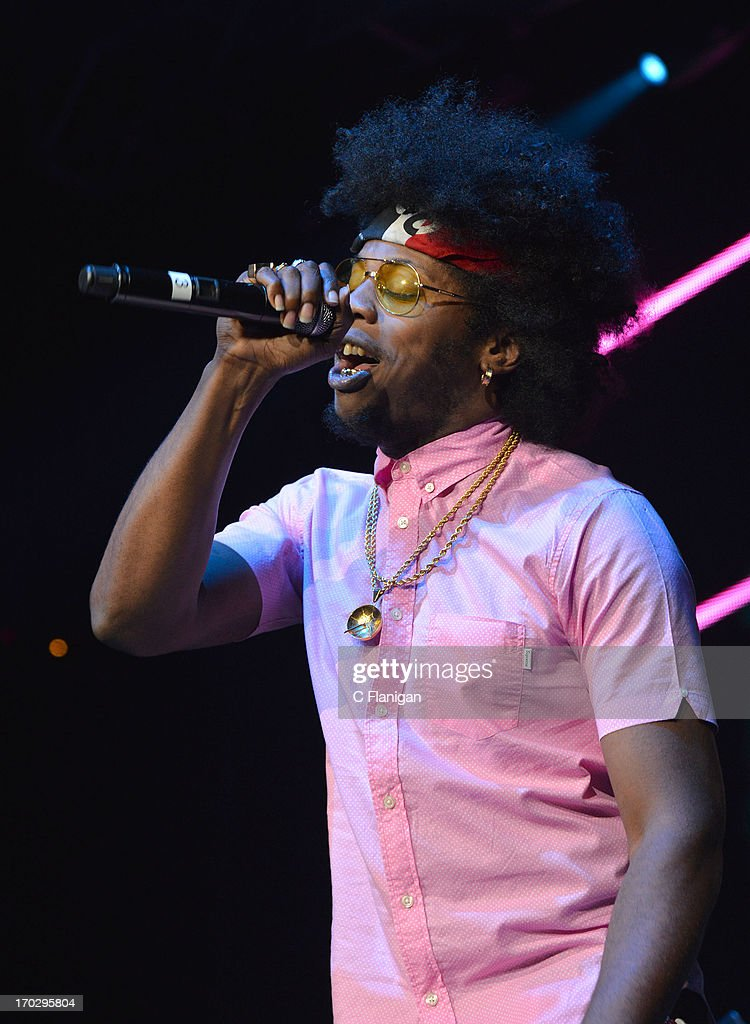 Rapper Trinidad James performs during the 2013 KMEL Summer Jam at ORACLE Arena on June 9, 2013 in Oakland, California.