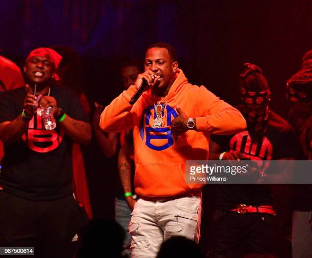 Rapper Trouble performs at 2018 BMI Know Them Now Experience at Buckhead Theatre on May 31 2018 in Atlanta Georgia