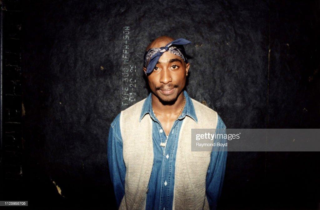 Tupac Shakur Live In Concert : News Photo