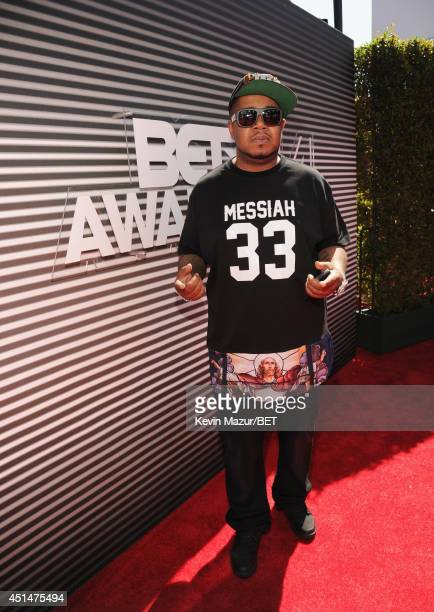 Rapper Twista attends the BET AWARDS '14 at Nokia Theatre LA LIVE on June 29 2014 in Los Angeles California