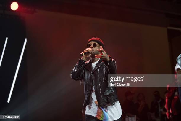 Rapper Ty Dolla $ign performs at ComplexCon 2017 on November 5 2017 in Long Beach California