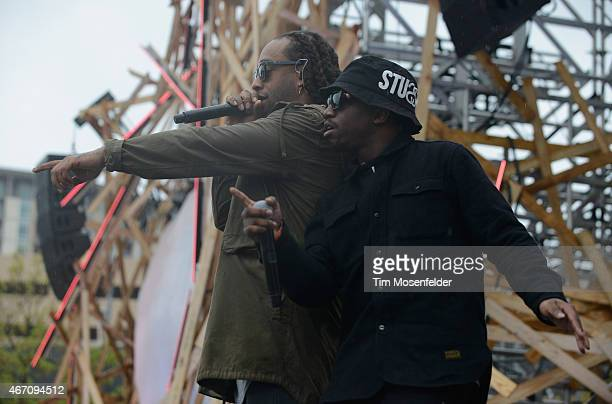 Rapper Ty Dolla $ign performs onstage at the 2015 MTV Woodies Festival on March 20 2015 in Austin Texas