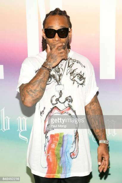 Rapper Ty Dolla Sign attends the Fenty Puma by Rihanna show during New York Fashion Week at the 69th Regiment Armory on September 10 2017 in New York...