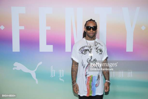 Rapper Ty Dolla Sign attends the FENTY PUMA by Rihanna Spring/Summer 2018 Collection at Park Avenue Armory on September 10 2017 in New York City