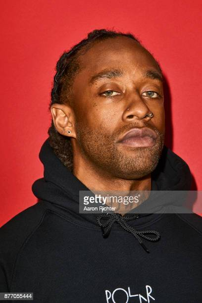 Rapper Ty Dolla Sign is photographed for Billboard Magazine on August 19 2017 at the Billboard Hot 100 Music Festival at Northwell Heath at Jones...