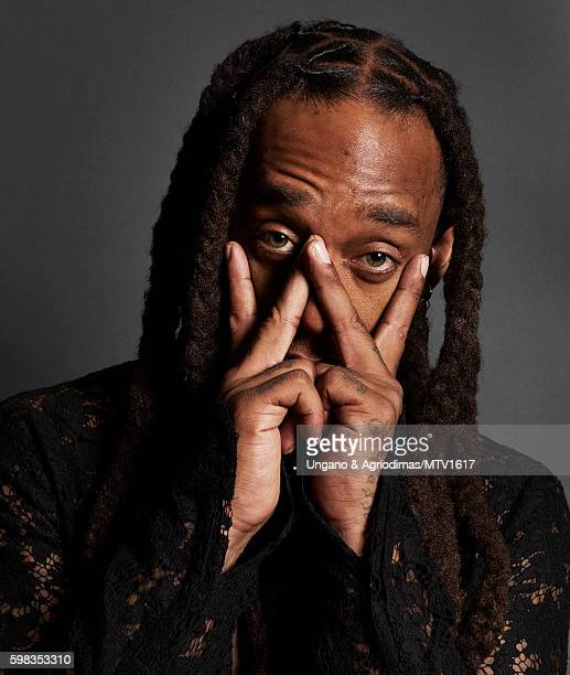 Rapper Ty Dolla Sign poses for a portrait at the 2016 MTV Video Music Awards at Madison Square Garden on August 28 2016 in New York City
