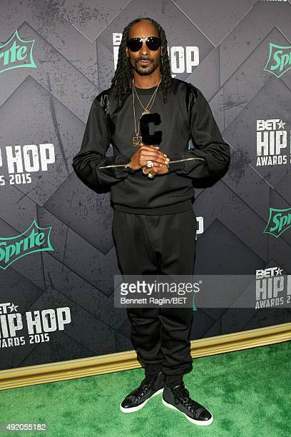 Rapper Uncle Snoop attends the BET Hip Hop Awards 2015 presented by Sprite at Atlanta Civic Center on October 9, 2015 in Atlanta, Georgia.