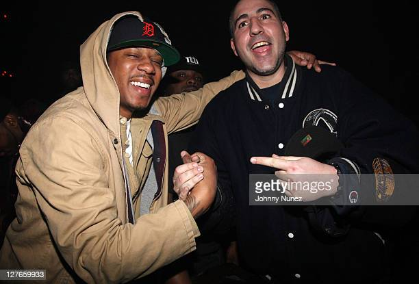Rapper Vado and DJ Killa Touch attend Girls Night Out at Webster Hall on March 31 2011 in New York City