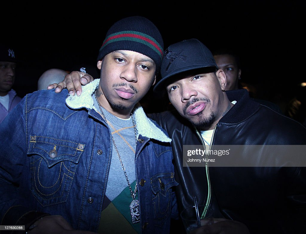 Rapper Vado and music producer Chink Santana attend vh1's