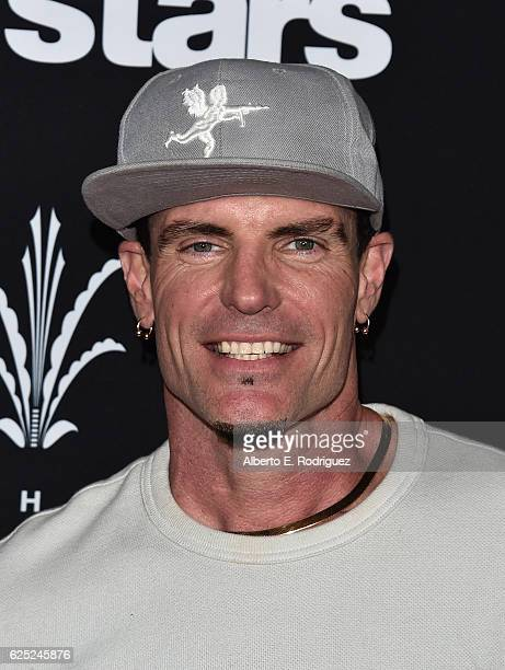 Rapper Vanilla Ice attends ABC's Dancing With The Stars Season 23 Finale at The Grove on November 22 2016 in Los Angeles California