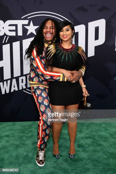 Rapper Waka Flocka and TV personality Tammy Rivera attend the BET Hip Hop Awards 2017 at The Fillmore Miami Beach at the Jackie Gleason Theater on...