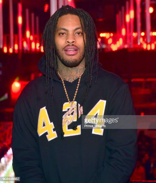 Rapper Waka Flocka attends a party at Gold Room on January 8 2018 in Atlanta Georgia