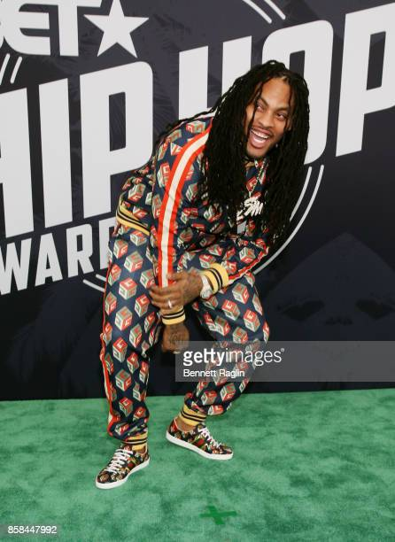 Rapper Waka Flocka attends the BET Hip Hop Awards 2017 at The Fillmore Miami Beach at the Jackie Gleason Theater on October 6 2017 in Miami Beach...