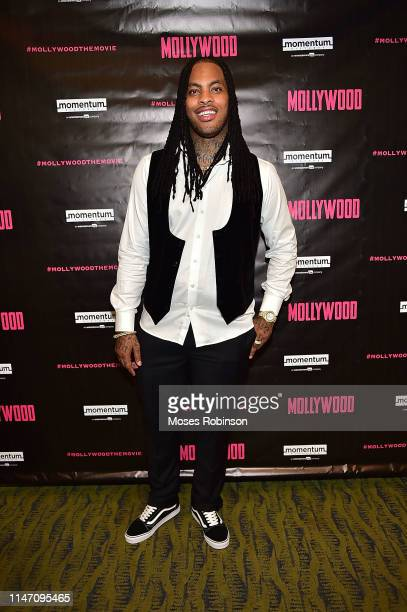 Rapper Waka Flocka attends the Mollywood Atlanta Screening at Midtown Art Cinema Theatre on May 30 2019 in Atlanta Georgia
