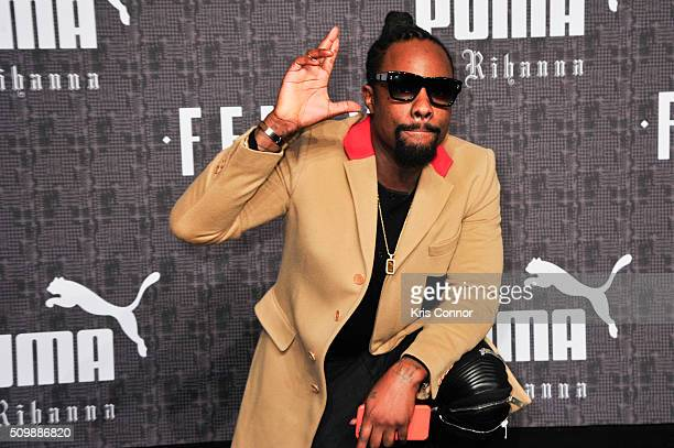 Rapper Wale attends FENTY x PUMA by Rihanna at 23 Wall Street on February 12 2016 in New York City