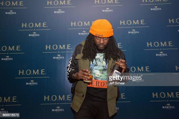 Rapper Wale attends HOME by Martell Chicago on October 26 2017 in Chicago Illinois
