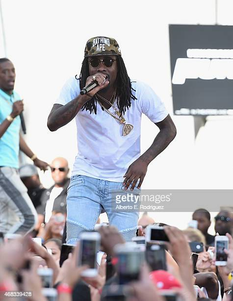 Rapper Wale performs at Revolt Live Hosts Exclusive 'Furious 7' Takeover with Musical Performances From the Official Motion Picture Soundtrack at...