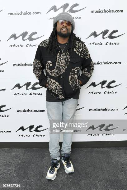 Rapper Wale visits Music Choice on June 13 2018 in New York City