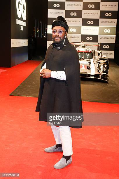 Rapper William Adams alias william attends the GQ Men of the year Award 2016 at Komische Oper on November 10 2016 in Berlin Germany