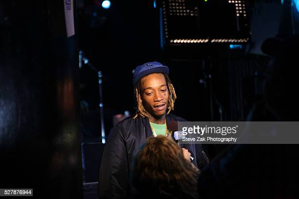 Rapper Wiz Khalifa attends 2nd Annual National Concert Day Show at Irving Plaza on May 3 2016 in New York City