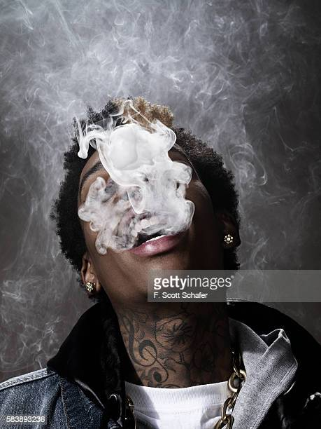 Rapper Wiz Khalifa is photographed for Complex Magazine on February 1 2011 in New York City