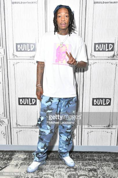 Rapper Wiz Khalifa visits Build to discuss his album Rolling Papers 2 at Build Studio on July 17 2018 in New York City