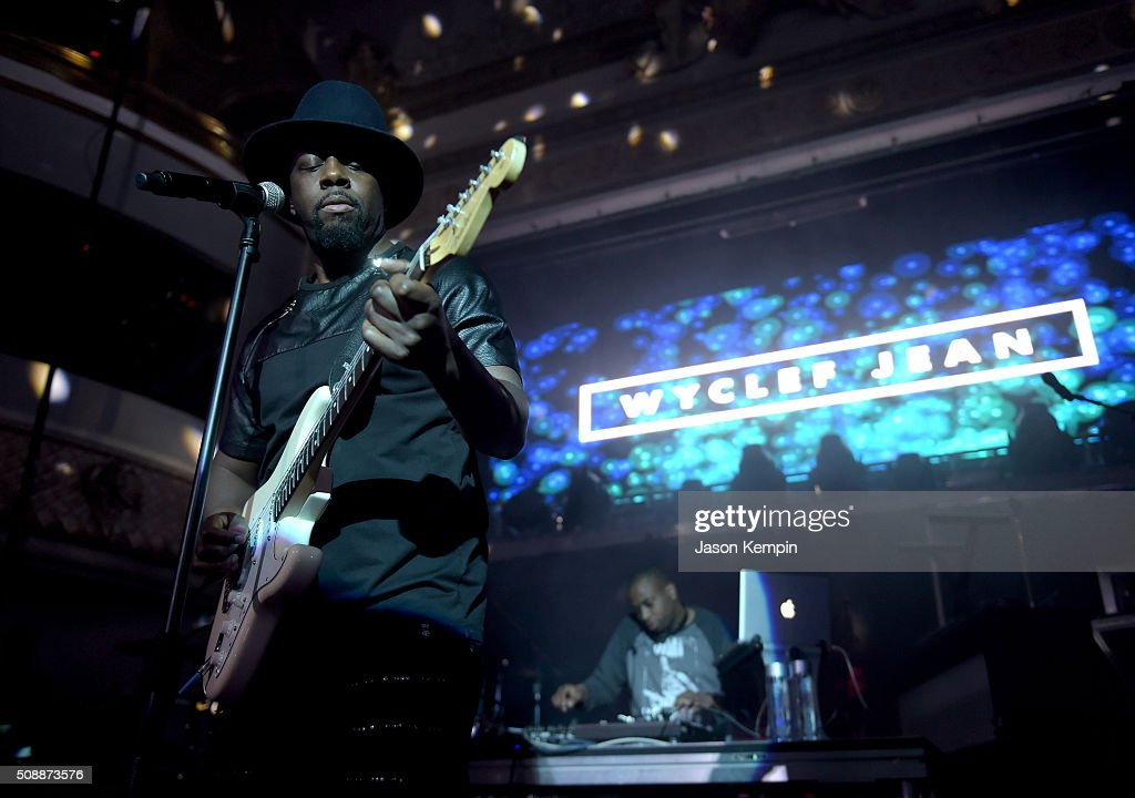 Rapper Wyclef Jean performs at the Bud Light Super Bowl 50 party at Ruby Skye in San Francisco. Bud Light, the beer of the fan and official beer sponsor of the NFL, is in San Francisco to celebrate Super Bowl 50 with unique experiences that speak to the passion and pride fans have for their teams and the game on February 6, 2016 in San Francisco, California.
