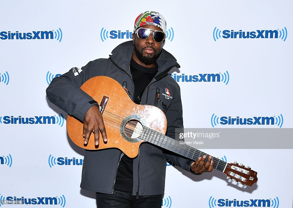 Rapper Wyclef Jean visits SiriusXM Studios on January 30, 2017 in New York City.