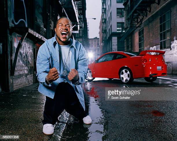 Rapper Xzibit is photographed for a calendar in 2004 in New York City