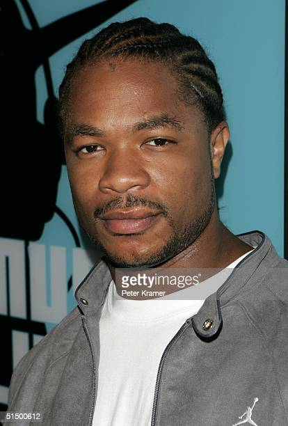 Rapper Xzibit makes an appearance on MTV's Total Request Live on October 19 2004 in New York City