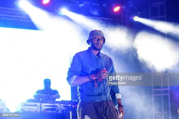 Rapper Yasiin Bey aka Mos Def performs onstage at 2017 ONE Music Fest at Lakewood Amphitheatre on September 9 2017 in Atlanta Georgia