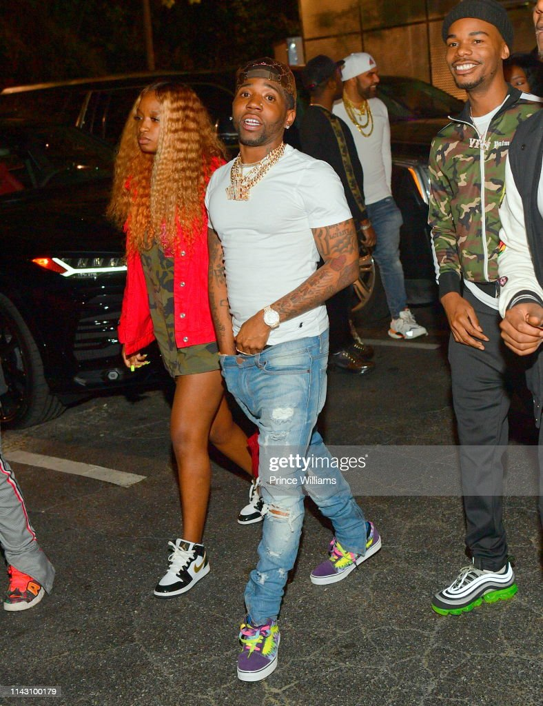 Rapper YFN Lucci attends a Party at Allure on April 16, 2019