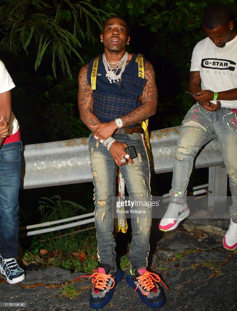 Rapper YFN Lucci attends Streetz Fest 2019 at Cellairis