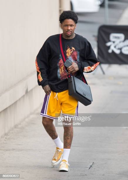 Rapper YG is seen at 'Jimmy Kimmel Live' on October 30 2017 in Los Angeles California