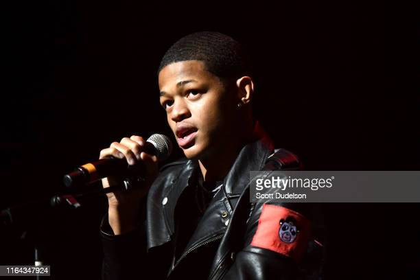 Rapper YK Osiris performs onstage during the XXL Freshman Concert at The Novo Theater at LA Live on July 25 2019 in Los Angeles California